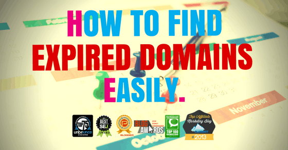 The Easiest Way To Find Powerful Expired Domains