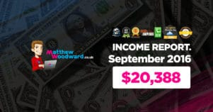 Monthly Income, Growth & Traffic Report – September 2016