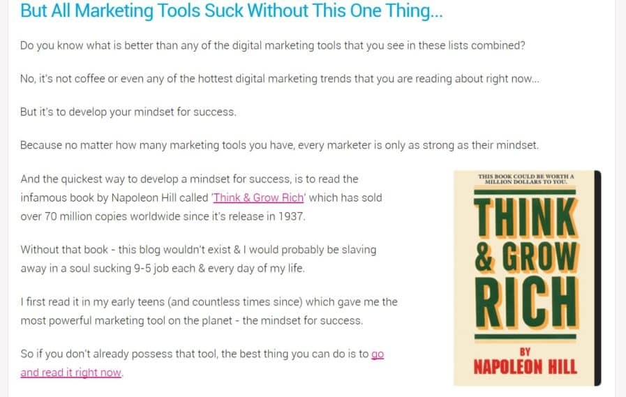 marketing tools affialiate