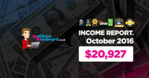 Monthly Income, Growth & Traffic Report – October 2016
