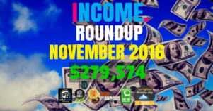 Income Report Roundup – November 2016