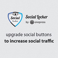 OnePress Social Locker