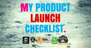 The 6 Figure Product Launch Checklist