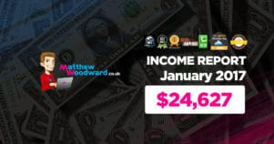 Monthly Income, Growth & Traffic Report – January 2017