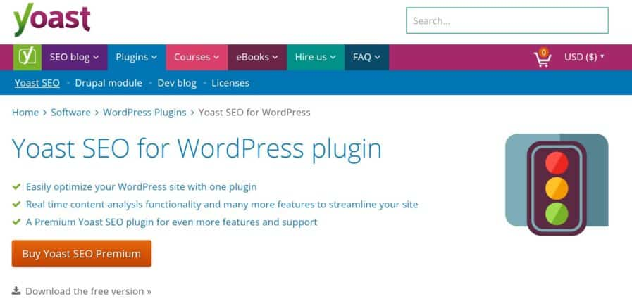 add225a5f6e This simple plugin works with WordPress to analyse each of your blog posts.  It gives you metrics to improve and rates the content of each post with a  ...