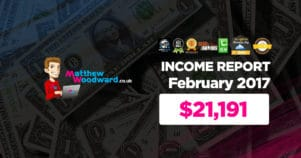 Monthly Income, Growth & Traffic Report – February 2017