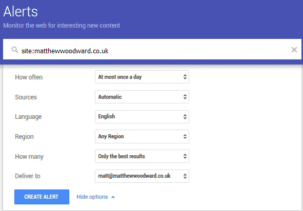 high quality search results