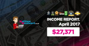 Monthly Income, Growth & Traffic Report – April 2017