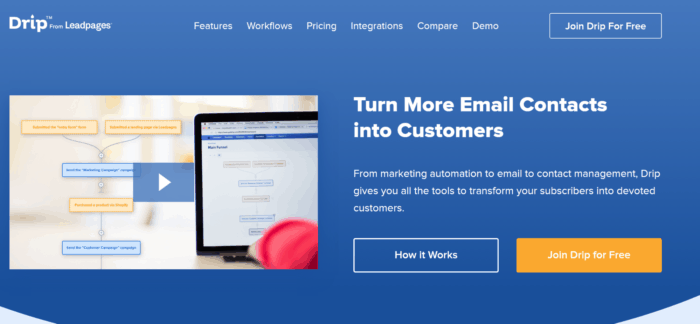 drip email marketing for your blog