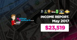 Monthly Income, Growth & Traffic Report – May 2017