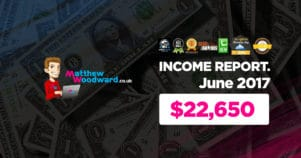 Monthly Income, Growth & Traffic Report – June 2017
