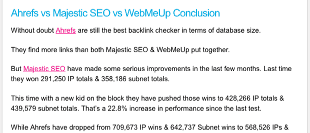 Which Is The Best Backlink Checker Tool The Results Are In