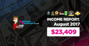 Monthly Income, Growth & Traffic Report – August 2017