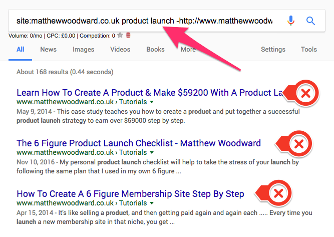 sito web di matthewwoodward co uk lancio del prodotto http www matthewwoodward co uk tutorali 6 figura Formula di lancio del prodotto Google Search