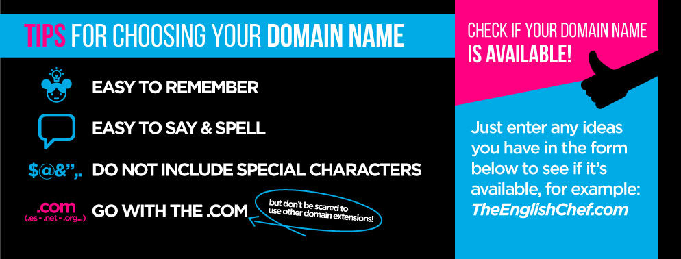 How to choose your blogs domain name