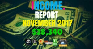 Monthly Income, Growth & Traffic Report – November 2017