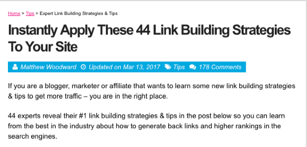 44 link building strategies