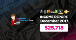 Monthly Income, Growth & Traffic Report – December 2017