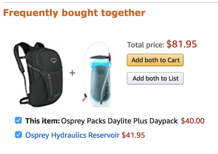 amazon product recommendations