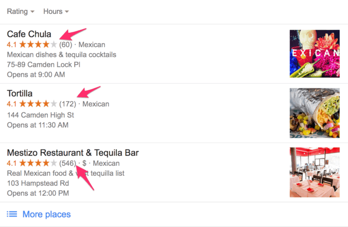 local search query