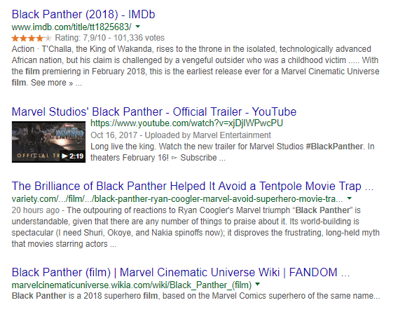 rich snippets stand out