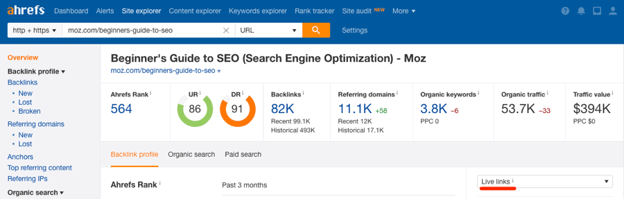 ahrefs moz beginners guide to seo 1