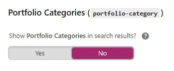 Yoast custom categories settings