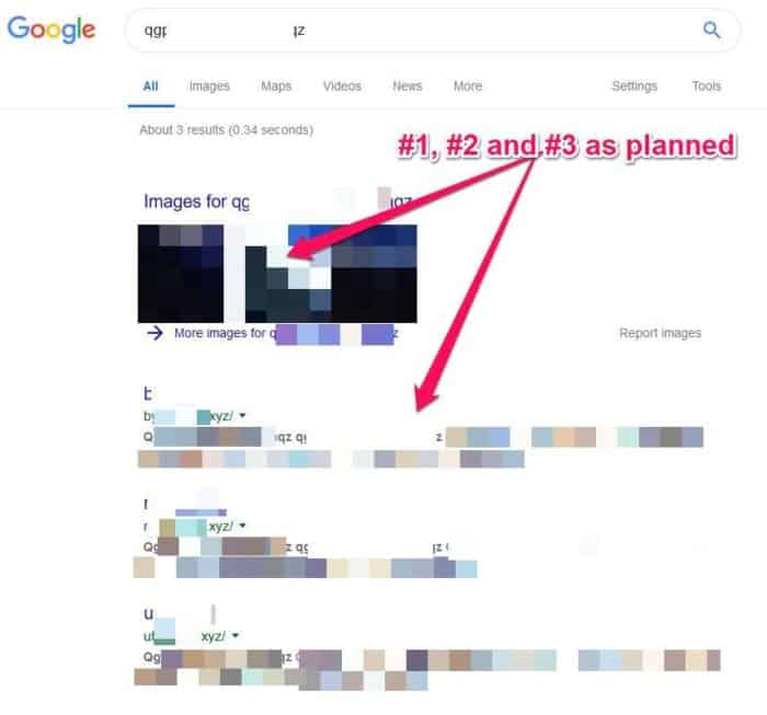 image seo results