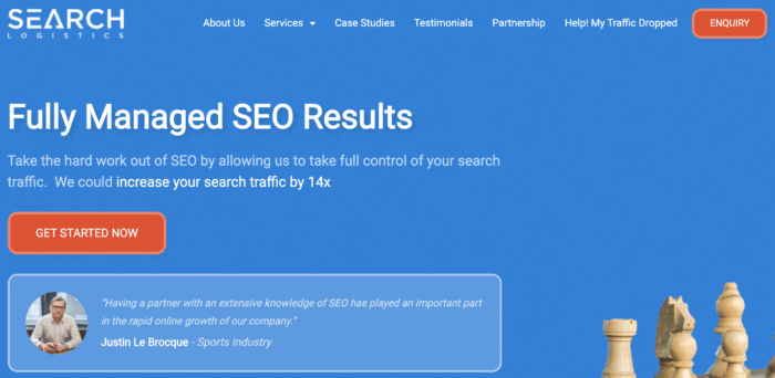 search logistics seo packages