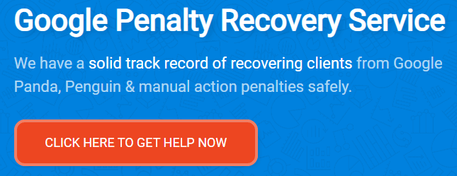 Google Penalty Recovery Service