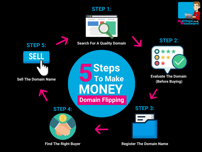 how to start domain flipping